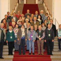 30 Personen haben auf Einladung von Günther Knoblauch den Landtag besucht.