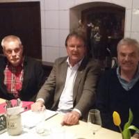V.l.: Heinz Deutsch, neuer SPD-Ortsvereinsvorsitzender in Altenmarkt, AK-Sprecher Helmut Haigermoser aus Tacherting und der Arbeitsmarktexperte Michael Wendl aus Kirchanschöring.