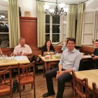 Florian von Brunn zu Gast bei der Kreisvorstanssitzung