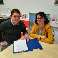 Sehen in der Brückenteilzeit einen wichtigen Schritt für die Arbeitnehmer in Traunstein und dem Berchtesgadener Land: Susanne Aigner und Sepp Parzinger