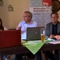 Anna Bräsel, Florian Ritter und Sepp Parzinger referierten zum Thema